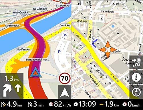 Elebest-City-70-Navigationsgertmit-32-GB-Speicher178cm-7-Zoll-DisplayFr-PKWLKWWohnmobilGPSNavigationBluetoothFahrspurassistentNeuste-Karten-sowie-RadarwarnerKostenlose-Kartenupdate