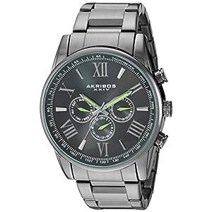 Akribos-XXIV-Herren-Armbanduhr-Analog-Quarz-AK736GLM
