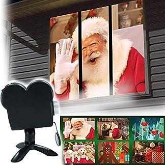 Weihnachtlicher-Halloween-Fensterprojektor-praktische-Projektion-Licht-Dekoration-fr-Zuhause-Auenbereich-Garten-Party