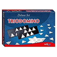 Noris-Spiele-606104603-Trio-Domino-Deluxe-Set