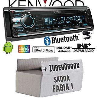 Autoradio-Radio-Kenwood-KDC-X7200DAB-DAB-Bluetooth-CD-2X-USB-hinten-iPhoneAndroid-Einbauzubehr-Einbauset-fr-Skoda-Fabia-1-JUST-SOUND-best-choice-for-caraudio