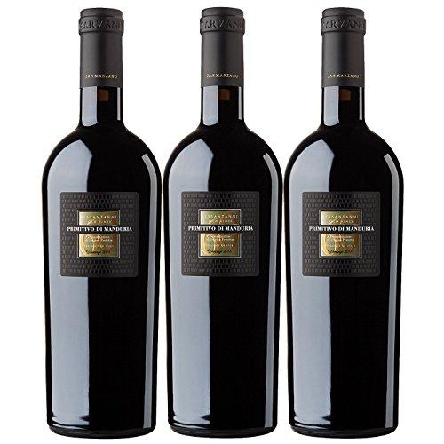 Vorteilspaket-Cantine-San-Marzano-Primitivo-di-Manduria-Sessantanni-Old-Vines-DOP-3-x-075-l