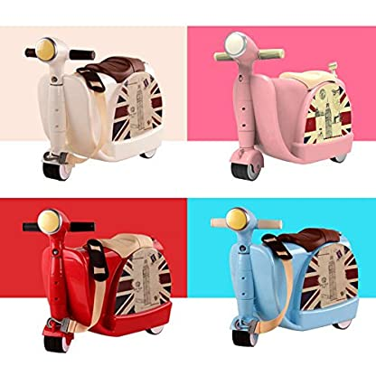 Kinderkoffer-Handgepck-Ride-On-and-Carry-Suitcase-Koffer-Ruckscke-Taschen-Reisegepck-Fit-3-Jhrige-Kinder
