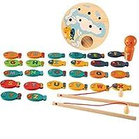 EisEyen-Magnetic-Wooden-Fishing-Game-Spielzeug-Fisch-Fangen-Zhlen-Brettspiele-Spielzeug-Kinder-Frherziehung-Spielzeug