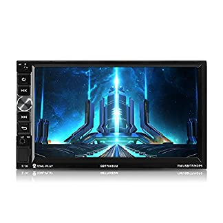 MiCarBa-Doppel-Din-Autoradio-Video-Player-178-cm-7-Zoll-HD-1024-x-600-Touchscreen-Auto-Video-Stereo-Auto-MP5-Player