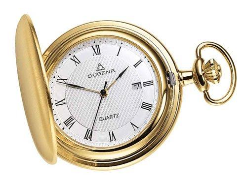 Dugena-4288033-Taschenuhr-weigold