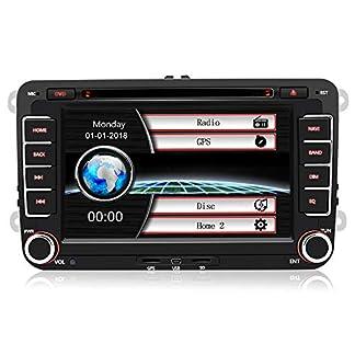 7-Zoll-2-Din-Autoradio-fr-VW-Golf-Seat-mit-Wince-System-DVD-Player-GPS-Navigation-FM-AM-Radio-Bluetooth-USB-CD-untersttzt-Lenkrad-Bedienung