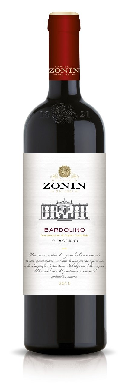 6x-075l-2017er-Zonin-Bardolino-Classico-DOC-Veneto-Italien-Rotwein-trocken