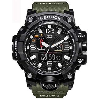 WAZA-Militr-Uhr-Herren-Sportuhr-Fit-Uhr-Wasserdicht-Nachtleuchtende-Stoppuhr-Digitaluhren