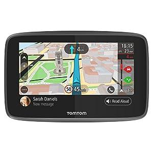 TomTom-GO-5200-Pkw-Navi-5-Zoll-mit-Updates-ber-Wi-Fi-Lebenslang-Traffic-via-SIM-Karte-Weltkarten-Freisprechen-Smartphone-Benachrichtigungen