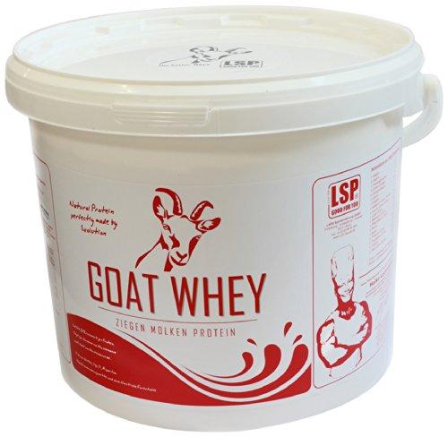 LSP Goat Whey (Ziegen Molken Protein) Erdbeer, 1er Pack (1 x 2.5 kg)