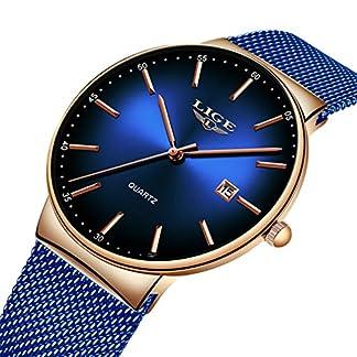 LIGE-Herren-Uhren-Fashion-Blau-Edelstahl-Uhr-Mnner-Sport-wasserdichte-Quarzuhr-Analog-Damen-Einfache-Armbanduhr
