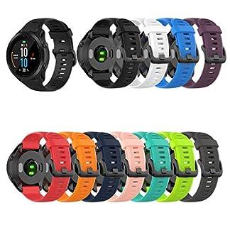 Siswong-Silikonband-Ersatz-WristStrap-Kompatibel-fr-Garmin-Forerunner-945935-Fenix-5-Plus-Armband-Silikon-Sportarmband-Silikonband