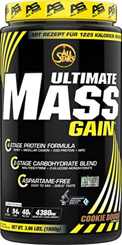 All Stars Mass-Gain, Cookie Dough, 1er Pack (1 x 1800 g)