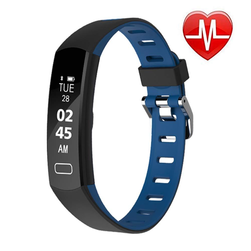 LIGE-Fitness-Tracker-Pulsmesser-Ultradnn-Schwarz-Activity-Tracker-Smart-Schrittzhler-Uhr-Schlaf-Monitor-Schrittzhler-Kalorienzhler-Wasserdichte-Fitness-Uhr-Kinder-Frauen-Mnner