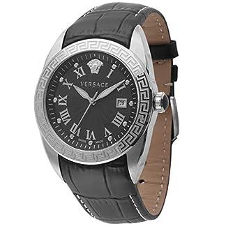 Versace-Herren-Analog-Quarz-Uhr-mit-Leder-Armband-VFE120015