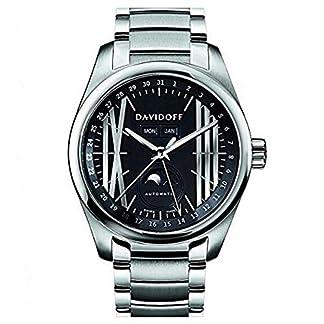 Davidoff-Herren-Armbanduhr-Analog-Automatik-Edelstahl-21140