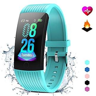 GOKOO-Fitness-Armband-mit-Pulsmesser-Damen-Herren-Wasserdicht-IP67-Fitness-Tracker-Smartwatch-Aktivittstracker-Pulsuhr-Schrittzhler-Uhr-Sportuhr-fr-Anruf-SMS-SNS-Beachten-fr-iPhone-Android-Handy