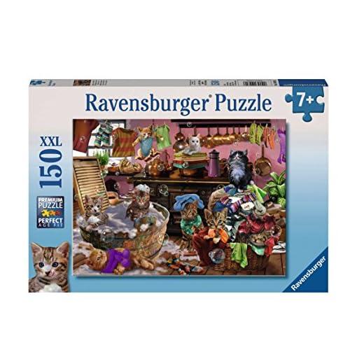 Ravensburger-Puzzle-10031-Katzen-in-der-Kche