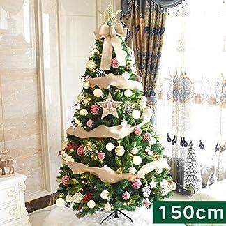 CYWYQ-LED-leuchten-Knstlicher-Weihnachtsbaum-Lwl-Baum-Premium-fichte-Klappbar-Auto-ausbreitung-Mit-Metallstnder-Wohnaccessoires