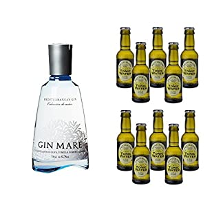 Gin-Mare-Tonic-Water-Set-Gin-Mare-1-x-07-l-mit-10-x-Tonic-Water-Ihrer-Wahl