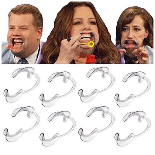 20-Ersatz-Mundstcke-von-HMILYDYK-intraoraler-Lippen-und-Wangenhalter-zur-ffnung-des-Mundes-in-den-Gren-S-fr-Kinder-und-M-und-L-fr-Erwachsene-C-frmig-auch-als-Partyspiel-geeignet