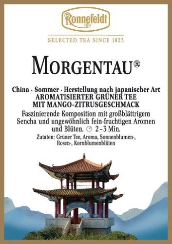 Ronnefeldt-Morgentau–Aromatisierter-Grner-Tee