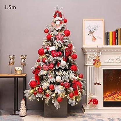 DZWLYX-Baumdecke-Weihnachtsbaum-Rock-Christbaumdecke-Rund-Wei-Weihnachtsbaumdecke-Christbaumstnder-Teppich-Decke-Weihnachtsbaum-Deko-120CM