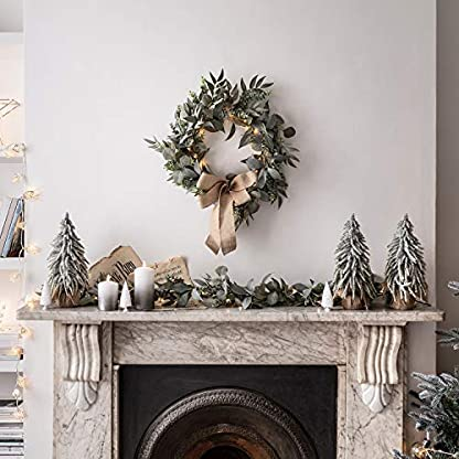 Lights4fun-Weihnachts-Set-15m-Eukalyptus-Lorbeer-Weihnachtsgirlande-50cm-Weihnachtskranz