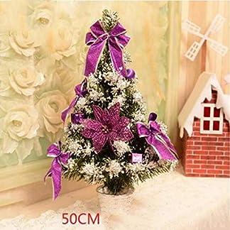 DZWLYX-Baumdecke-Weihnachtsbaum-Rock-Christbaumdecke-Rund-Wei-Weihnachtsbaumdecke-Christbaumstnder-Teppich-Decke-Weihnachtsbaum-Deko-50CM