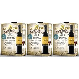 3-x-SUNRISE-CABERNET-SAUVIGNON-CONCHA-Y-TORO-3-LITER-BOX-Incl-Goodie-von-Flensburger-Handel