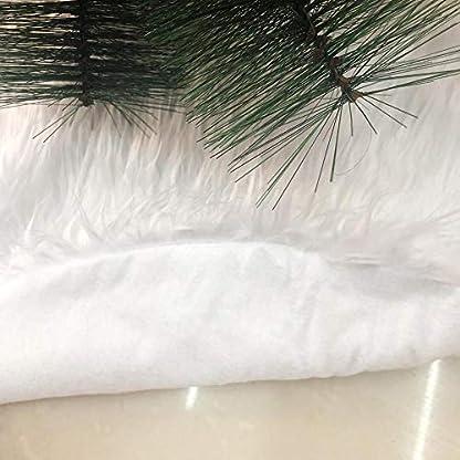 Kingmia-Black-Friday-Christbaumstnder-90cm-Weihnachtsbaumdecke-Weihnachtsdeko-Weihnachtsbaum-Rock-Wei-Plsch-Weihnachtsbaum-Decke-Weihnachtsbaum-Deko78cm
