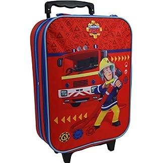 Feuerwehrmann-Sam-Kinder-Koffer-Trolley-Kinderkoffer-Reisekoffer-Handgepck-8015