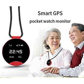 Voberry-Smart-Watch2018-Neueste-S9-Smart-GPS-Positionierung-Pocket-Watch-One-Key-Zwei-Wege-Notruf-SOS-fr-Hilfe