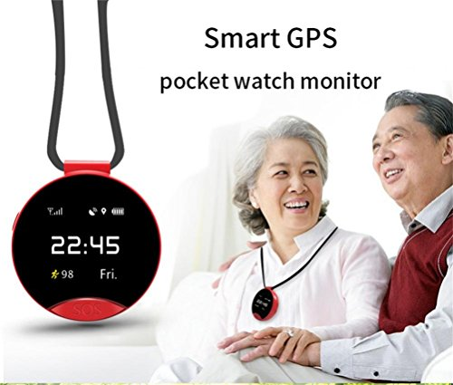 Voberry-Smart-Watch2018-Neueste-S9-Smart-GPS-Positionierung-Pocket-Watch-One-Key-Zwei-Wege-Notruf-SOS-fr-Hilfe