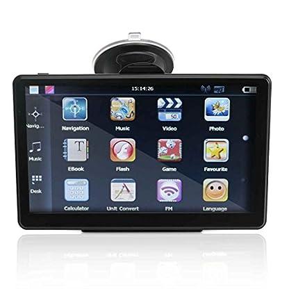 censhaorme-Windows-System-7-HD-Touch-Screen-Bluetooth-LKW-Auto-GPS-Navigations-Nautiker-mit-Sonnenschutz