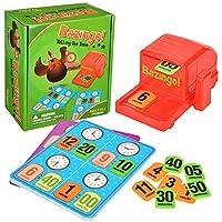 Wesimplelife-Bazingo-Bingo-Spiele-Frhe-Lernspiele-Spielzeug-Tischspiele-Spielzeug-Partyspiel-fr-Kindergeburtstage-Gesellschafts-Familienspiel-fr-Kinder-Erwachsene-2-8-Spieler-ab-3-Jahren
