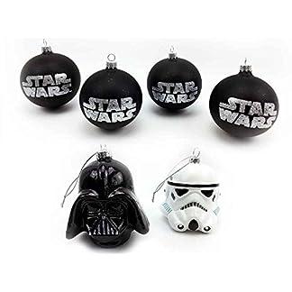 Baumkugel-Star-Wars-TM-6er-Set-Weihnachtskugel-fr-Star-Wars-Fans-Weihnachtsdeko