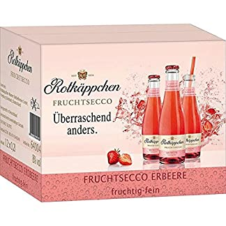 12-Flaschen-Rotkppchen-Fruchtsecco-Erdbeer-a-200ml-Piccolo-Erdbeere