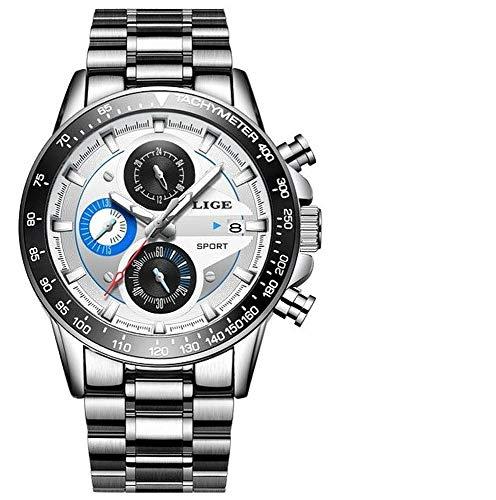 LIGE-Herren-Uhr-Analog-Quarz-mit-Edelstahl-Armband-9835