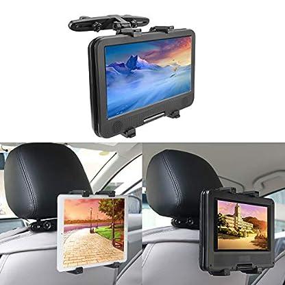 Auto-Kopfsttzenhalterung-bedee-Tablet-Halterung-Verstellbare-Kopfsttze-Halter-Universal-fr-Tragbare-DVD-Player-Apple-iPad-MiniAir-2-Air43Pro-Samsung-Galaxy-Tab-Kindle-Fire-7-12-Zoll-Tablets