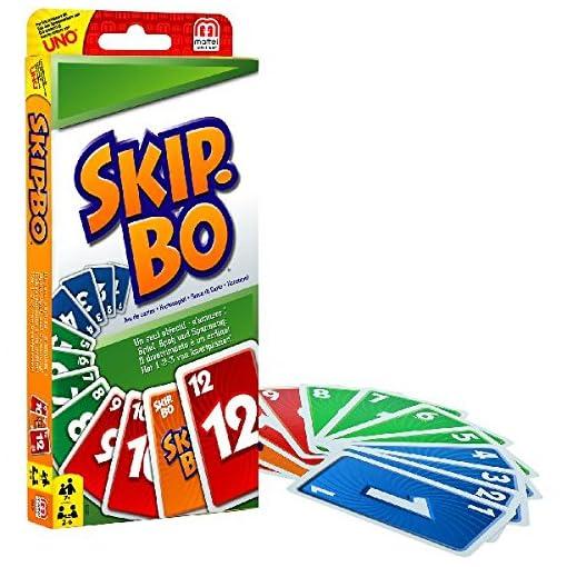 Mattel-52370-0-Skip-Bo-Kartenspiel-Mattel-W2087-Uno-Kartenspiel