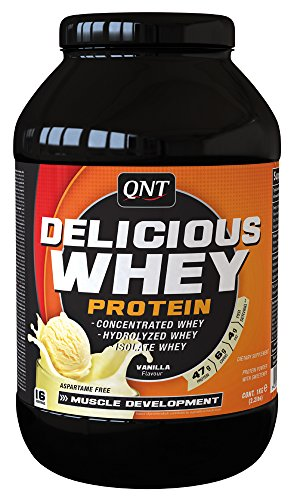 QNT Delicious Whey Protein 1Kg Vanille Cream