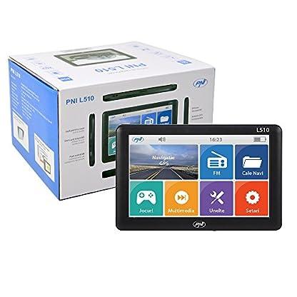 5-inch-GPS-Navigationssystem-PNI-L510-800-MHz-256-M-DDR-8-GB-kompatibel-mit-jedem-KartenKeine-vorinstallierte-Karte