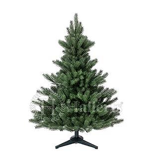 Original-Hallerts-Spritzguss-Weihnachtsbaum-Alnwick-120-cm-als-Nordmanntanne-Christbaum-zu-100-in-Spritzguss-PlasTip-Qualitt-schwer-entflammbar-nach-B1-Norm-Material-TV-und-SGS-geprft-Premium-Spritzgu