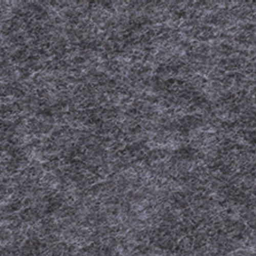 Filzplatte 30x45cm ca. 3mm Dunkelgrau meliert