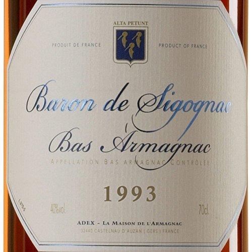 BARON-DE-SIGOGNAC-ARMAGNAC-MILLSIM-1993-70-Cl