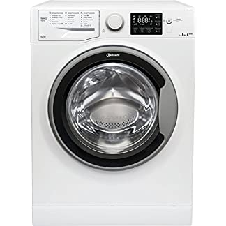 Bauknecht-WM-Sense-8G42PS-Waschmaschine-Frontlader-A-20-1400-UpM-8-kg-Wei-langlebiger-Motor-Nachlegefunktion-Wasserschutz