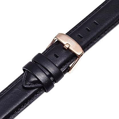 Daniel-Wellington-Damen-Uhren-Armband-Classic-Sheffield-Leder-schwarz-Schliesse-rosgold-DW00200036