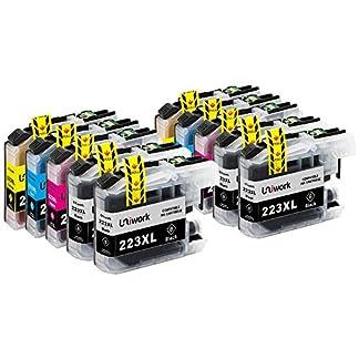 Uniwork-LC223-Druckerpatronen-Kompatibel-fr-Brother-LC223-LC223XL
